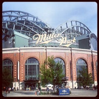 Photo taken at Miller Park by Aaron W. on 6/3/2013