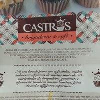 Photo taken at Castros - Brigadeiria & Café by Juliana D. on 2/18/2016