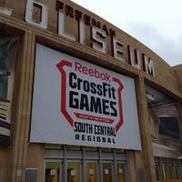 Photo taken at Freeman Coliseum by Alyson on 5/24/2013