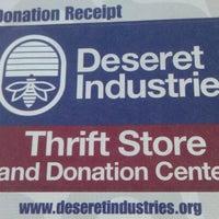 Photo taken at Deseret Industries by Adam H. on 12/28/2012