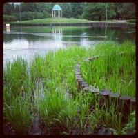 Photo taken at Парк «Дубки» by Alexey K. on 5/25/2013