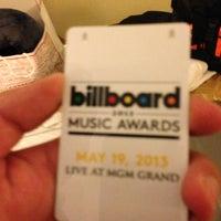 Photo taken at Billboard Music Awards by Jorge on 5/20/2013