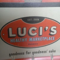 Photo taken at Luci's Healthy Marketplace by Pat A. on 1/10/2013