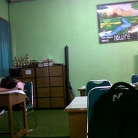 Photo taken at SMA Negeri 2 Bandar Lampung by isca a. on 10/12/2012