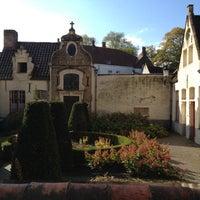 Photo taken at Godshuisjes by Patrick on 10/14/2012