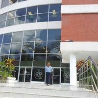 Photo taken at Universidad Tecnológica de Panamá - Campus Central Dr. Víctor Levi Sasso by Ameth U. on 1/25/2013
