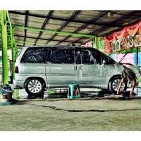 """Photo taken at Car wash """"Sineleyan"""" by Totok S. on 10/27/2013"""