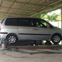 """Photo taken at Car wash """"Sineleyan"""" by Totok S. on 4/18/2014"""