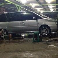 """Photo taken at Car wash """"Sineleyan"""" by Totok S. on 7/11/2014"""