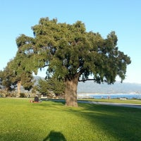 Photo taken at Shoreline Park by Tommy S. on 1/9/2013