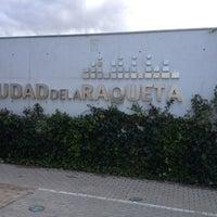 Photo taken at Ciudad de la Raqueta by Ruben on 10/27/2012