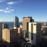 Photo taken at Hilton Seattle by Karla C on 12/29/2014