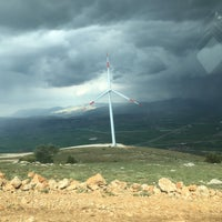Photo taken at Güriş Holding 115 MW Dinar Rüzgar Enerji Santralı by Onur O. on 5/29/2017