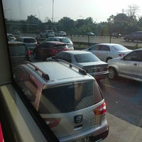 Photo taken at Gerbang Tol Pasar Rebo by Dudun H. on 8/11/2014