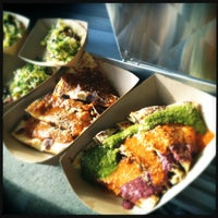 Photo taken at Kogi BBQ Truck by Adrienne C. on 12/22/2012