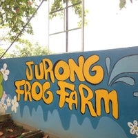 Photo taken at Jurong Frog Farm by Jeff F. on 8/10/2017