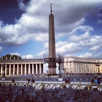 Photo taken at Saint Peter's Square by Aleksei S. on 5/11/2013