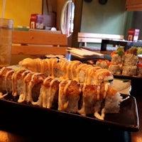 Photo taken at Sushi Naga by Vindy F. on 7/13/2014