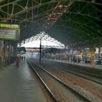 Photo taken at Bandra Railway Station by Pritam S. on 12/1/2012