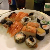 Photo taken at Hakka Sushi by Leonardo A. on 6/4/2013