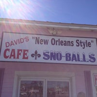 Photo taken at David's New Orleans Style Snow Balls Inc. by Alexander T. on 2/17/2013