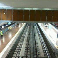 Photo taken at Metro Alvalade [VD] by Diogo G. on 11/12/2012