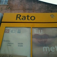 Photo taken at Metro Rato [AM] by Diogo G. on 11/24/2012
