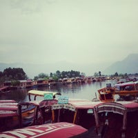 Photo taken at Vale of KASHMIR Houseboats In dal lake by Shubham S. on 6/17/2013
