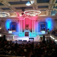Photo taken at Mechanics Hall by Robert W. on 12/11/2012