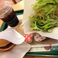 Photo taken at MOS Burger by Koji on 8/4/2013