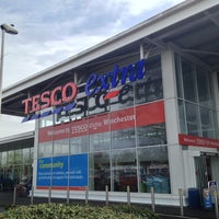 Photo taken at Tesco by Shanie on 4/24/2013