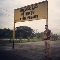 Photo taken at Thrissur Railway Station by Aghil k. on 7/9/2013