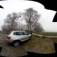 Photo taken at Badeplatz Seerhein by Harald F. on 11/23/2014
