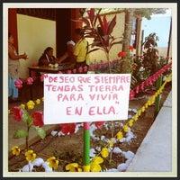"""Photo taken at Escuela Normal """"José Vasconcelos"""" by Edguitar on 10/28/2012"""
