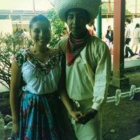 """Photo taken at Escuela Normal """"José Vasconcelos"""" by Edguitar on 10/15/2012"""