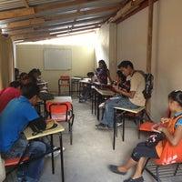 """Photo taken at Escuela Normal """"José Vasconcelos"""" by Edguitar on 10/11/2012"""