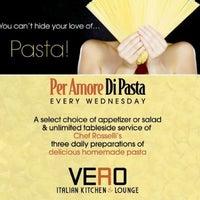 Photo taken at VERO! cibo * liquori bar by MichaelVittorio E. on 6/15/2013