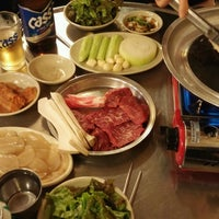 Photo taken at 영동소금구이 by Min K. on 9/27/2016