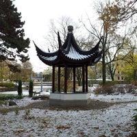 Photo taken at Kronvalda parks by Anna P. on 10/27/2012