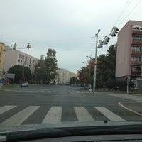 Photo taken at Füredi út buszmegálló by Zoltán M. on 10/13/2012