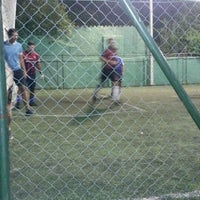 Photo taken at Los Amigos del Futbol by Gustavo M. on 2/7/2014