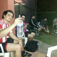 Photo taken at Los Amigos del Futbol by Gustavo M. on 9/20/2013