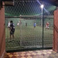 Photo taken at Los Amigos del Futbol by Gustavo M. on 12/18/2013