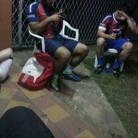 Photo taken at Los Amigos del Futbol by Gustavo M. on 9/10/2013