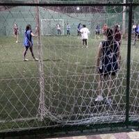 Photo taken at Los Amigos del Futbol by Gustavo M. on 9/14/2013