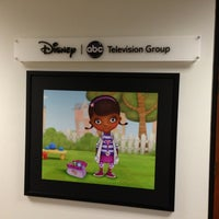 Photo taken at Disney Channel by Lisa on 9/28/2013