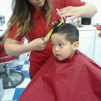 Photo taken at Kids' Hair by Joie W. on 5/19/2013