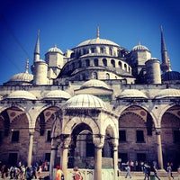 Photo taken at Blue Mosque by Angry K. on 7/12/2013