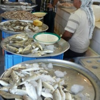 Photo taken at Qatif fish market by Usman B. on 9/19/2015