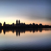 Photo taken at Jacqueline Kennedy Onassis Reservoir by Aparna M. on 5/15/2013
